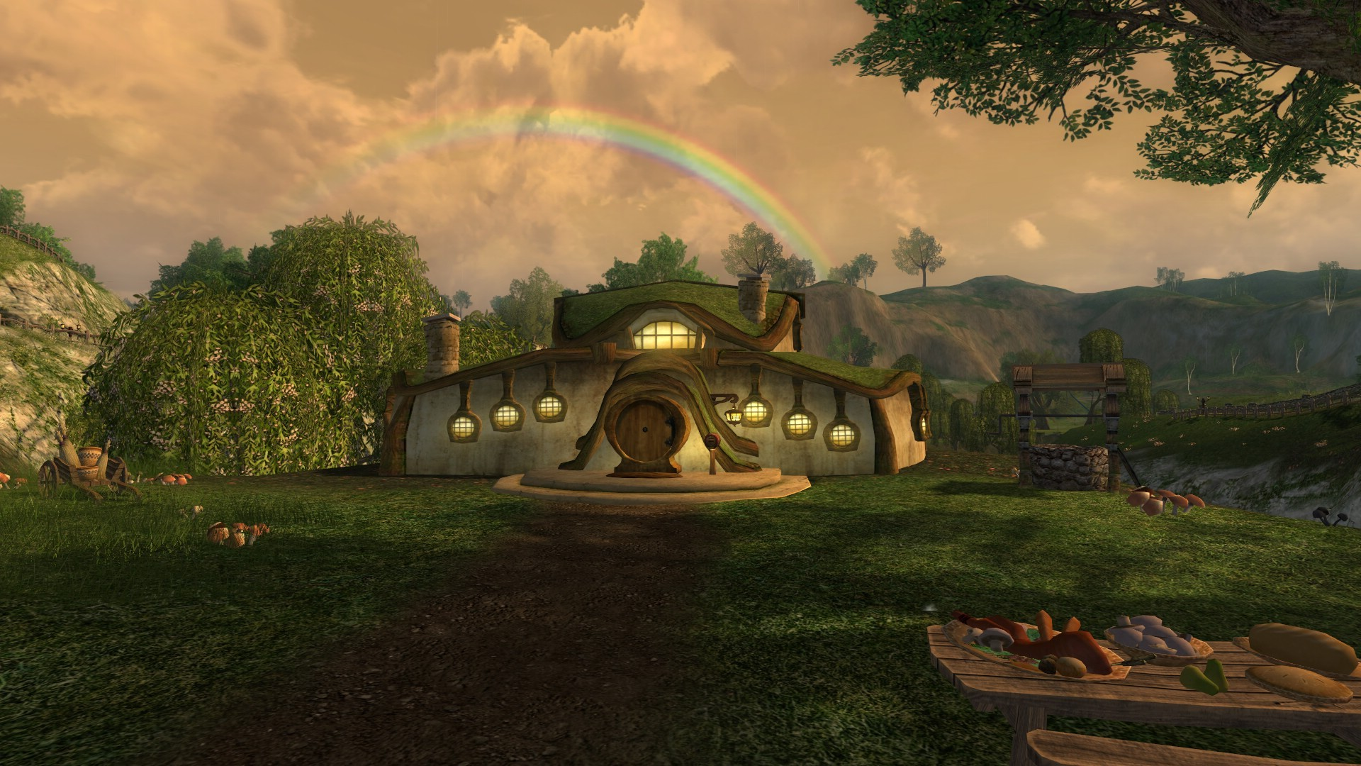 Lord of the Rings Online - Lillafire's Hobbit Hole