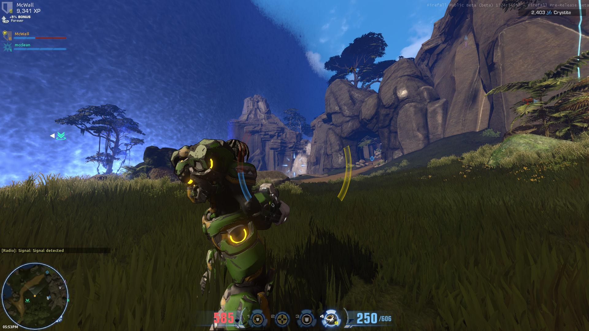 My first Firefall experience