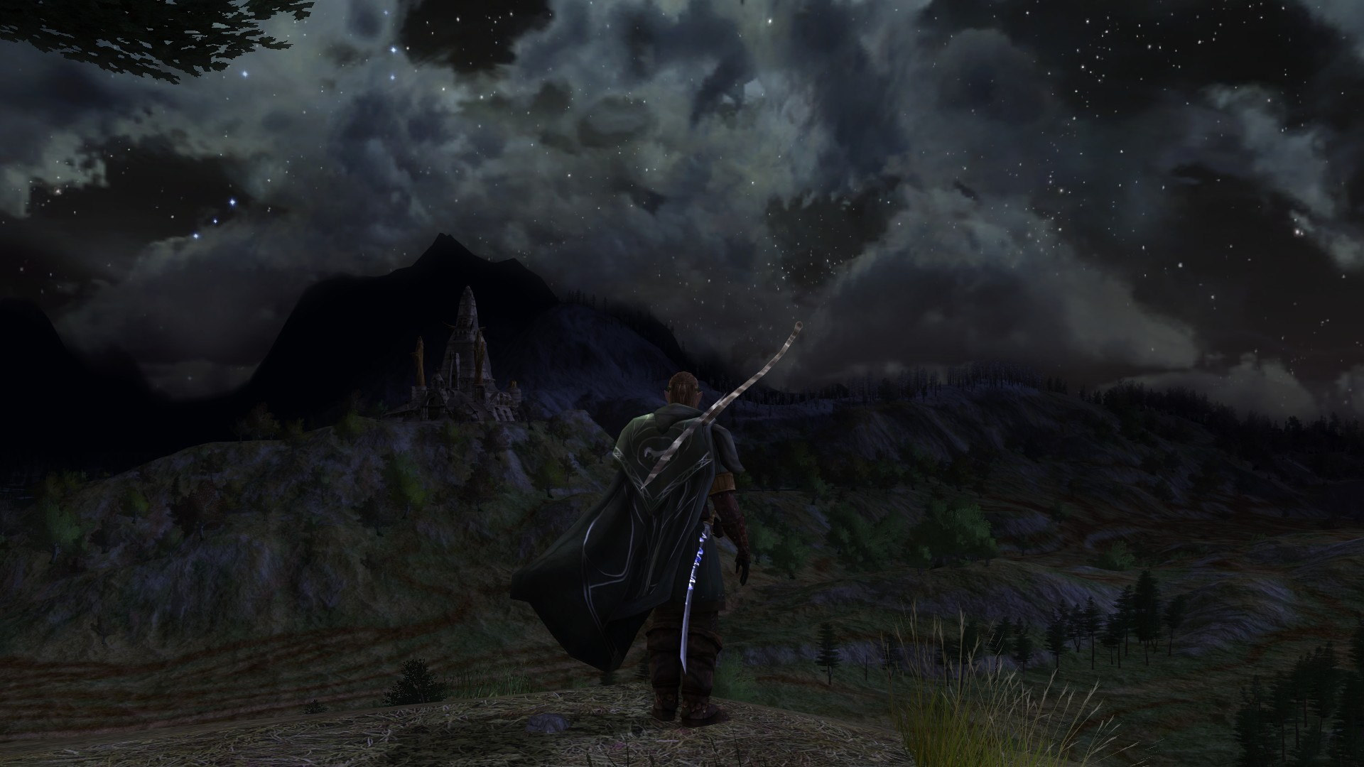 Lord of the Rings Online - Dunland Moonlit night