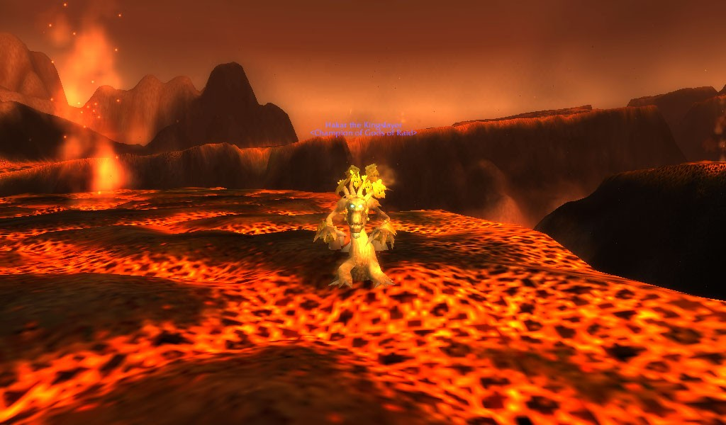 World of Warcraft - Is it me, or is it hot in here?