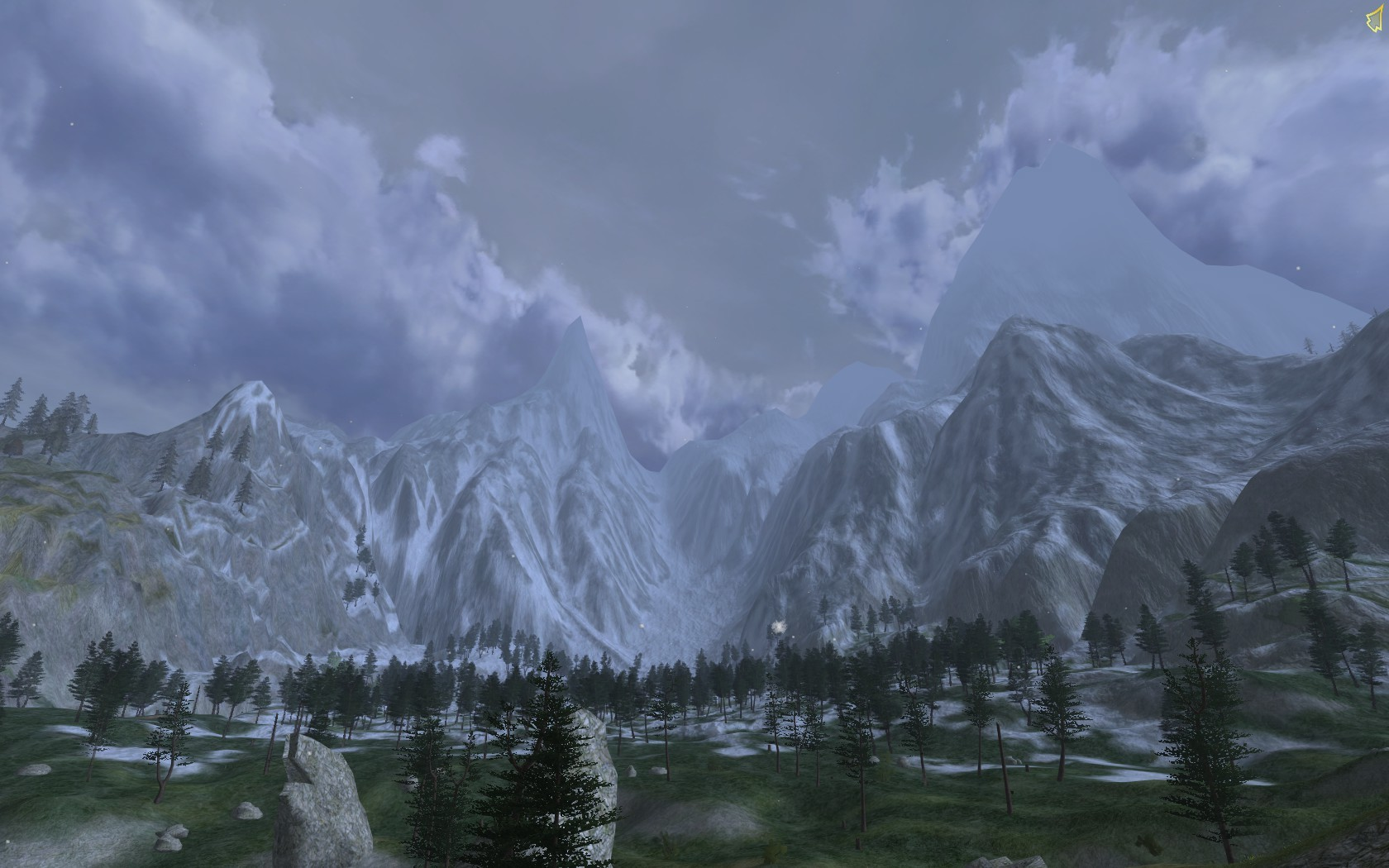 Lord of the Rings Online - Thror's Coomb. Home to the dragon, Draigoch.