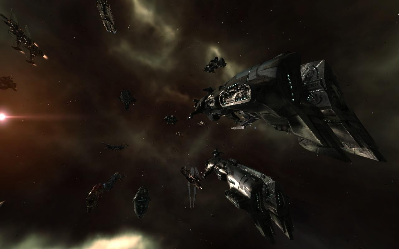 EVE Online - On the way to Delve :P