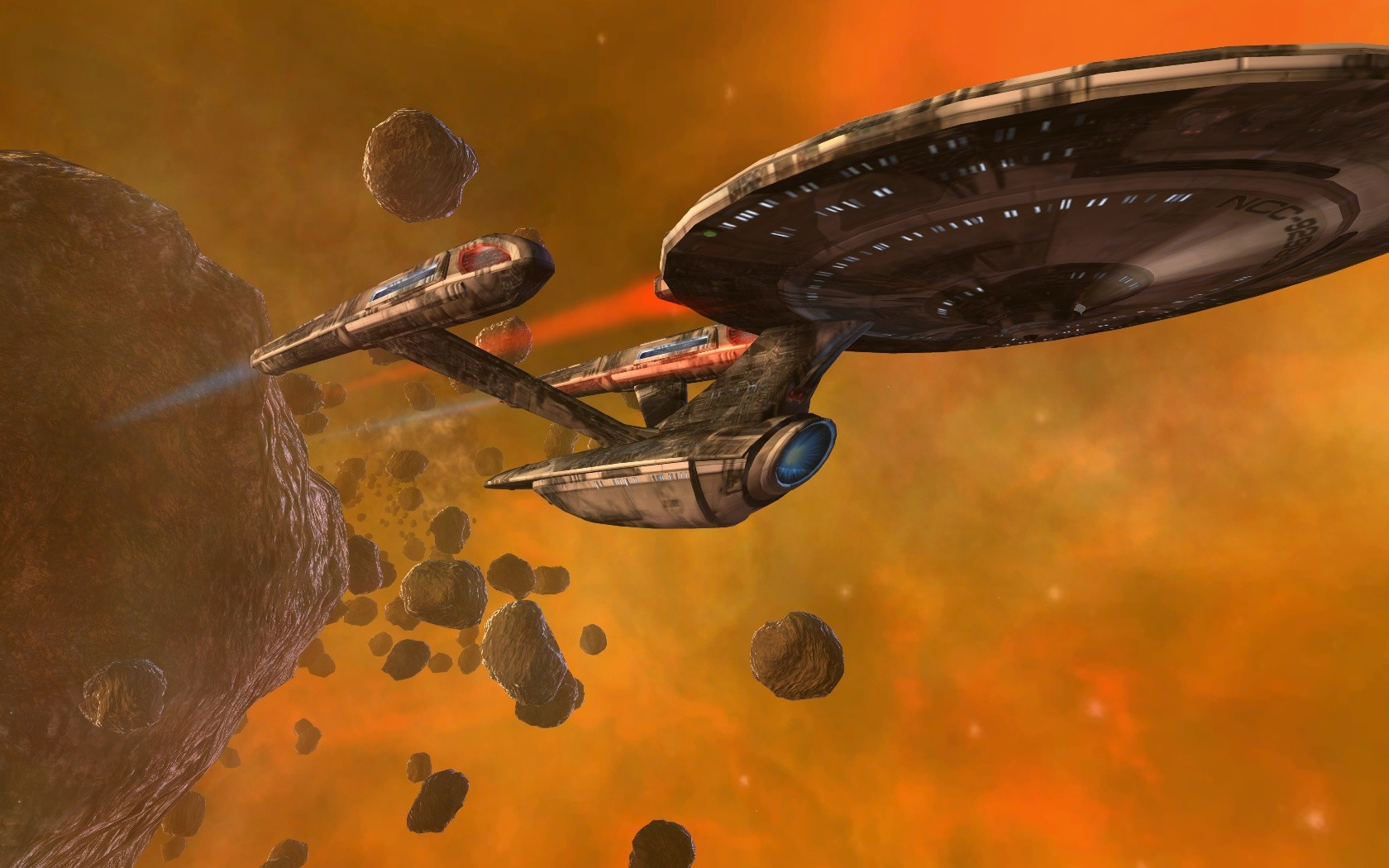 Star Trek Online - Damage from exploding Nebula