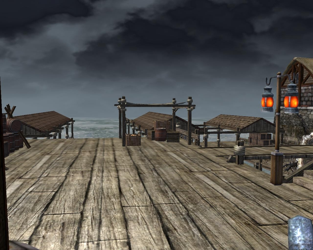 Darkfall - Ocean View from my in-game Home
