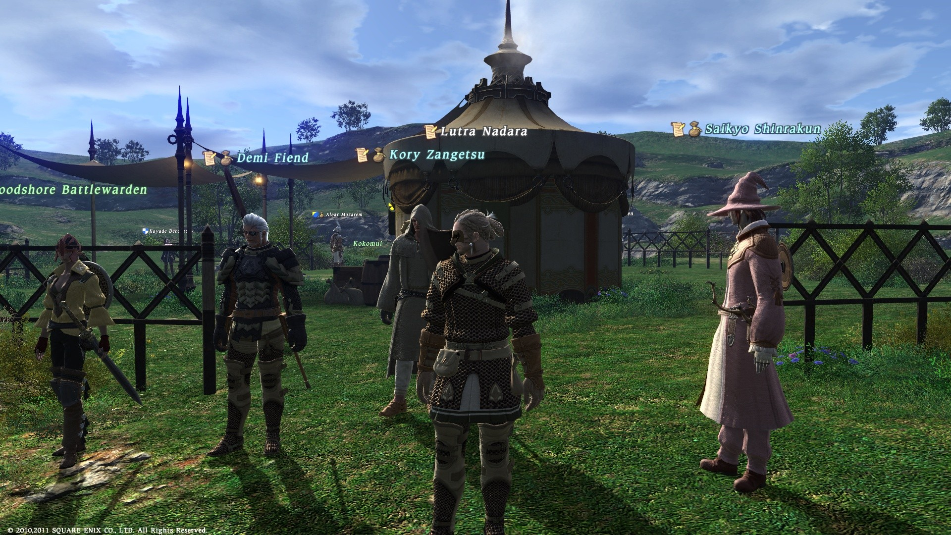 Final Fantasy XIV: A Realm Reborn - Getting ready for behest