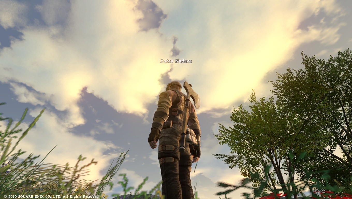 Final Fantasy XIV: A Realm Reborn - Catching some rays