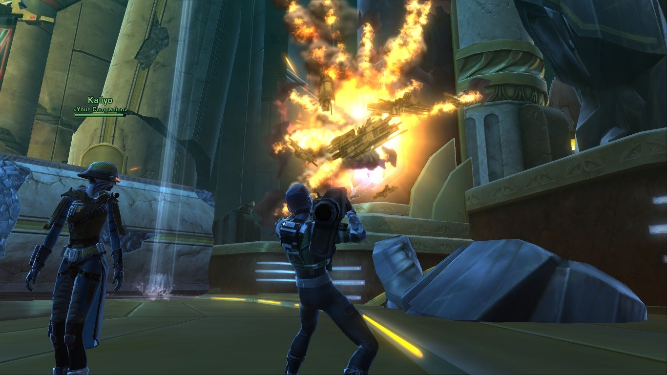 Star Wars: The Old Republic - Rocket Launcher Fun