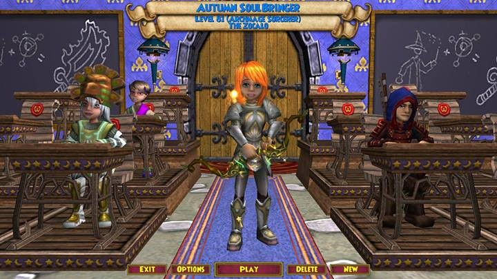 Wizard101 - Autumn ~Balance,life,fire