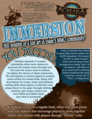 Achaea immersion infograph