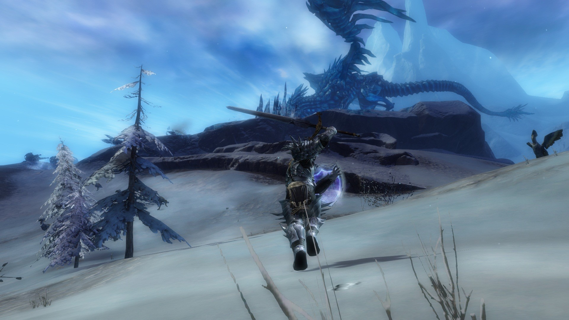 Guild Wars 2 - On my way to fight Jormags Claw.