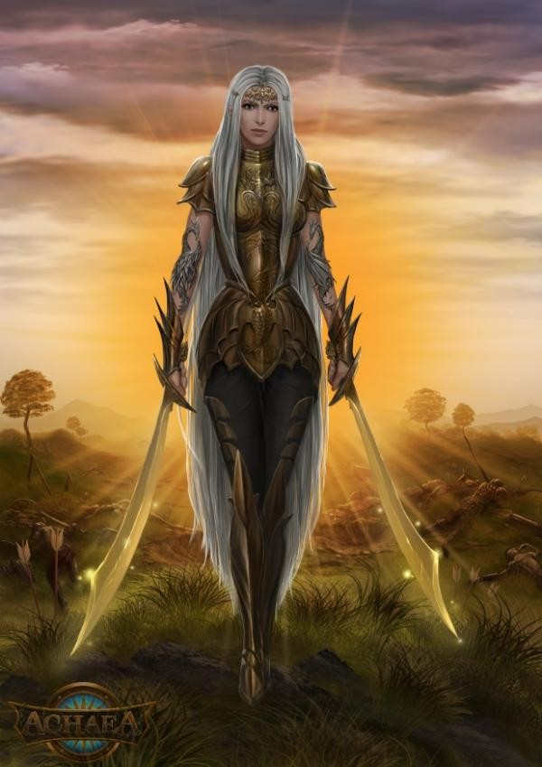 Achaea Aurora Goddess of Light