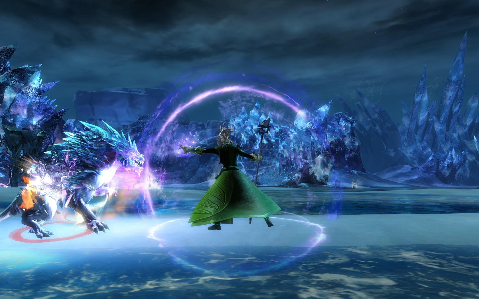 Guild Wars 2 - My 1st visit to this zone in gW2. it's gorgeous.