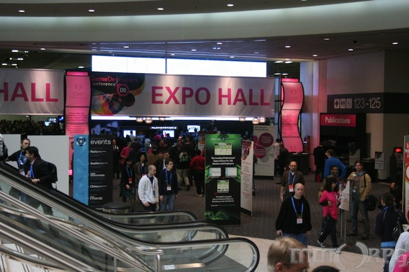 Entrance to expo hall