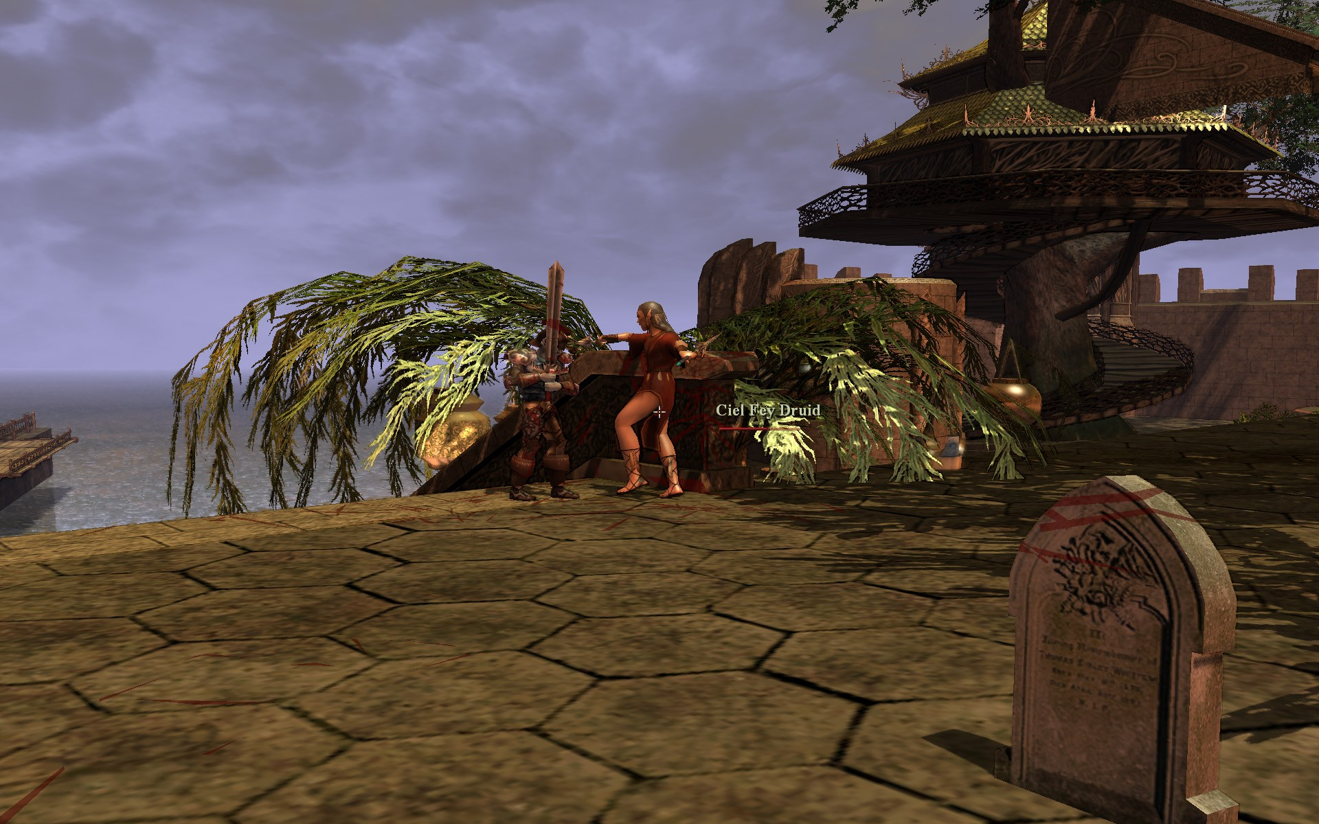 Darkfall - Fighting Mobs...