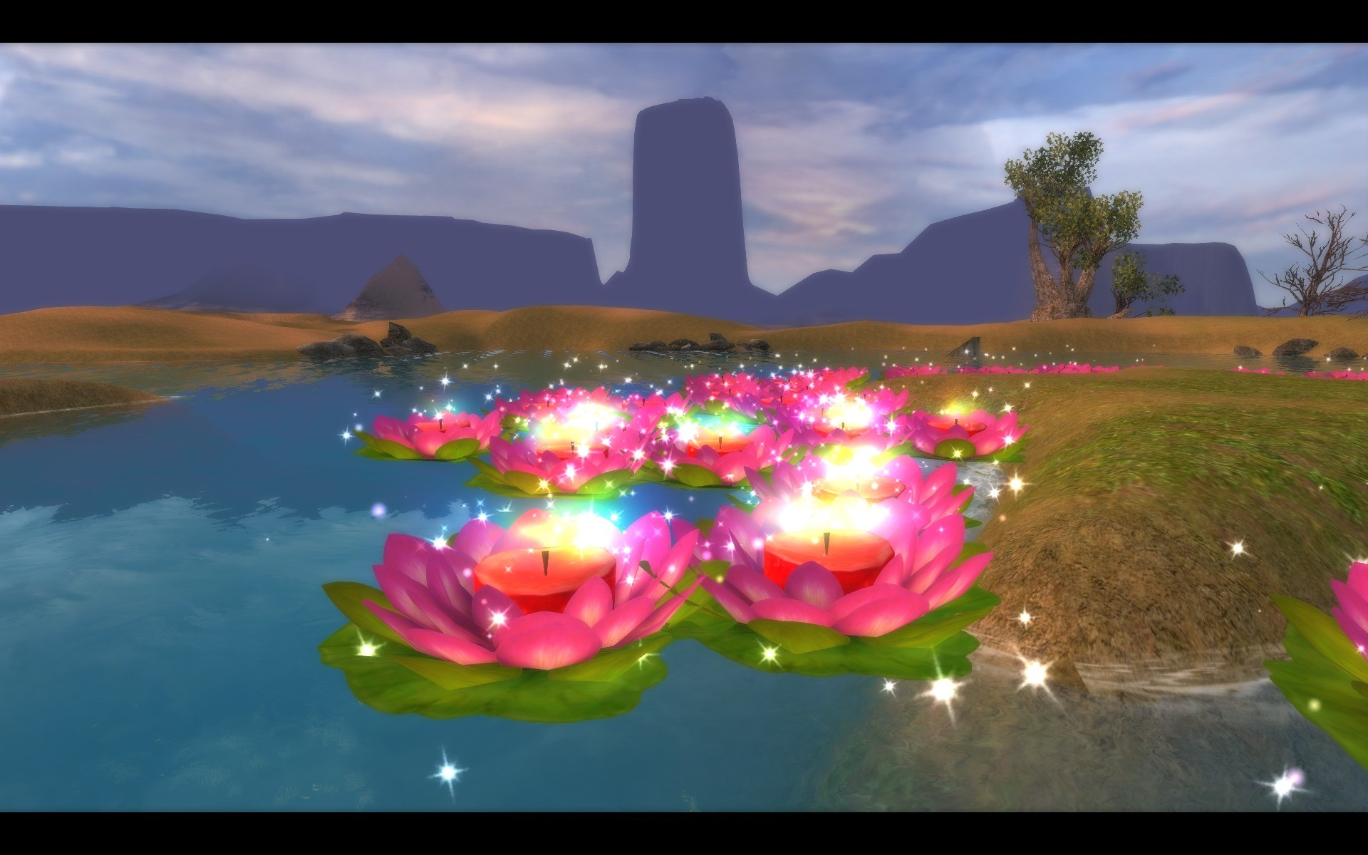 Perfect World International - Pierced Heart Lake During Valentine's Day Event