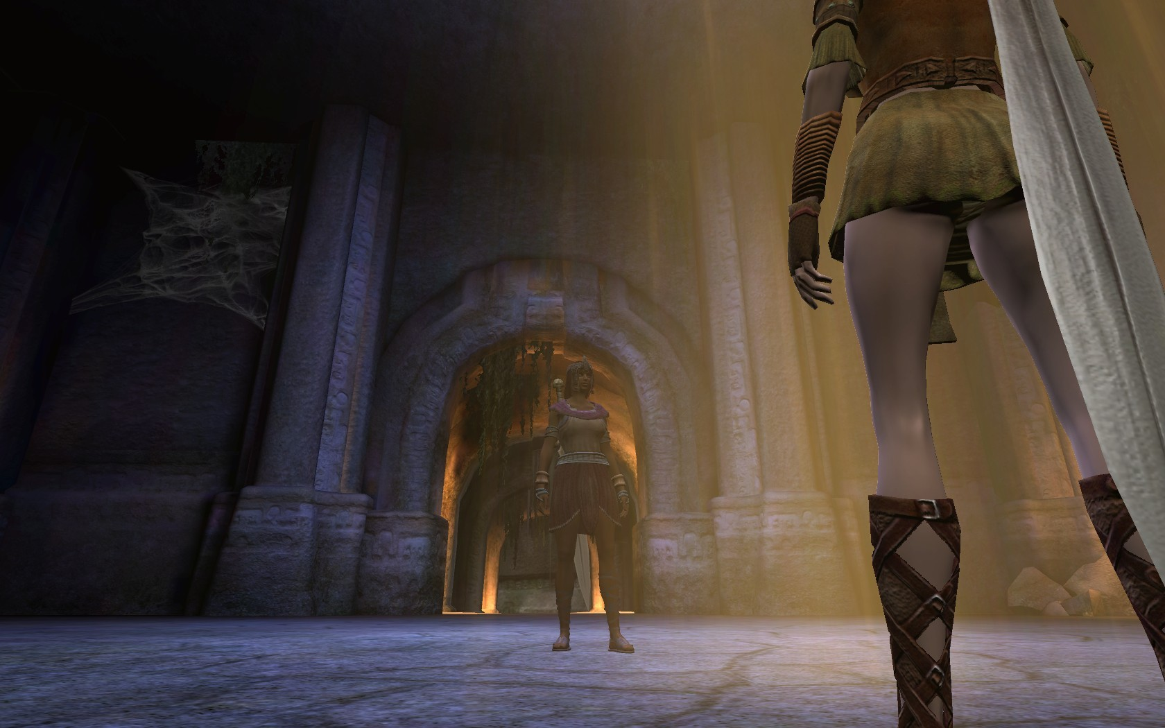 Age of Conan: Unchained - AoC - Sewers in OT