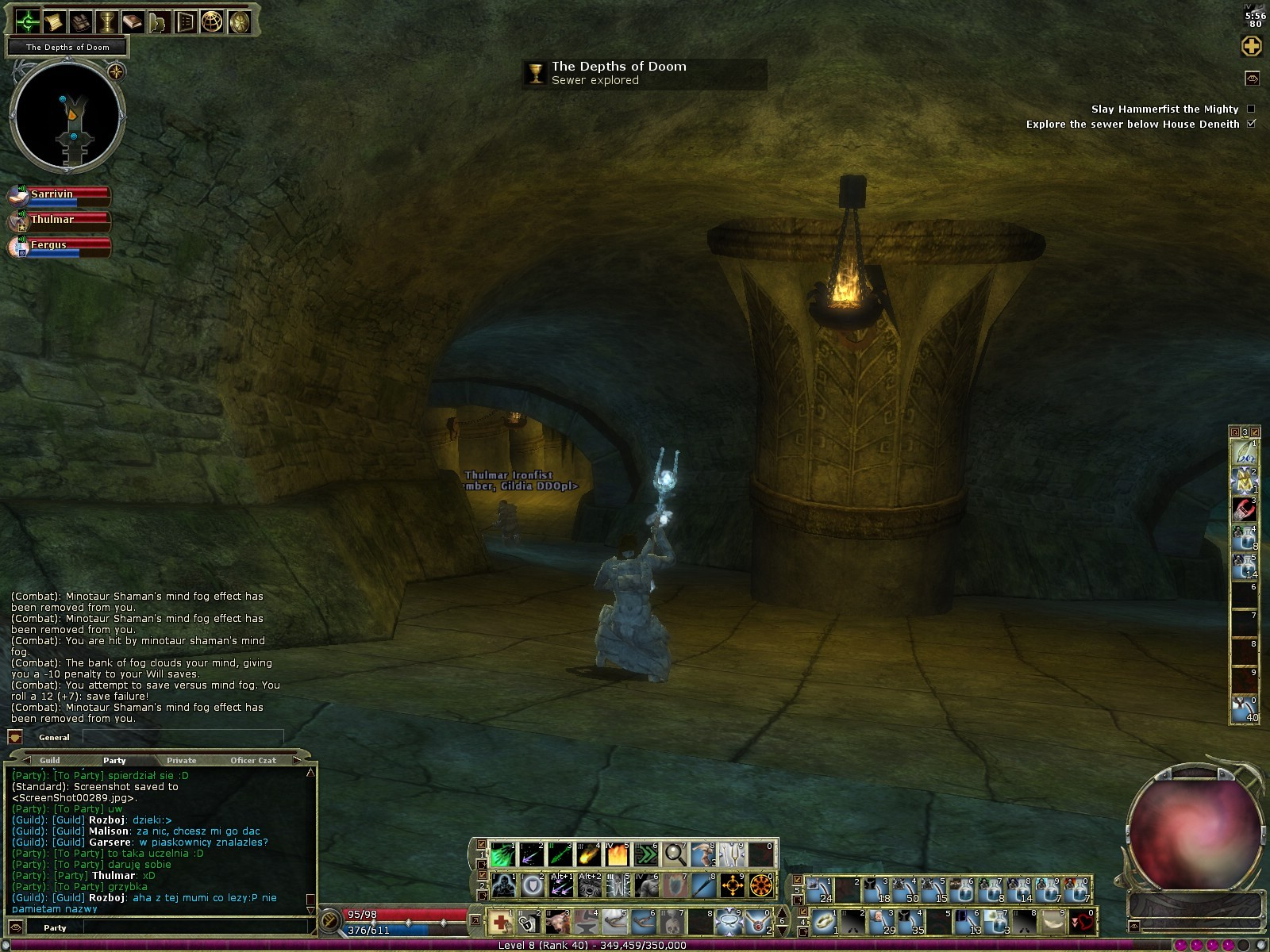 Dungeons & Dragons Online - DDO: Your choice. Key element of this MMO.