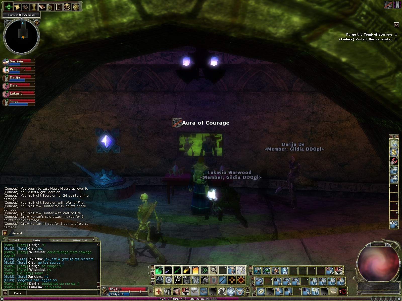 Dungeons &amp; Dragons Online - DDO: LCD Screen in Dungeon? Or is it a simple mirror? :P