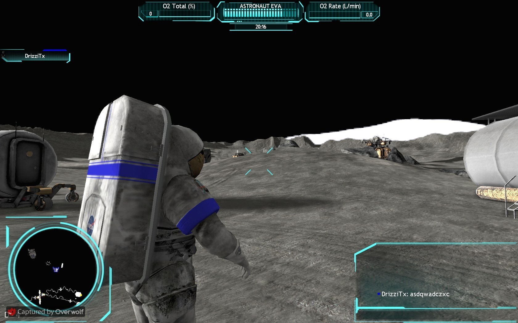 Go Nasa ... old game, interesting concept