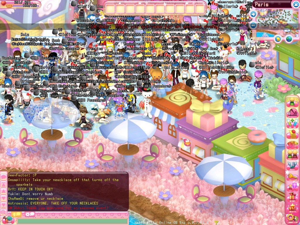 Hello Kitty Online - Valentine Event on Hello Kitty Online
