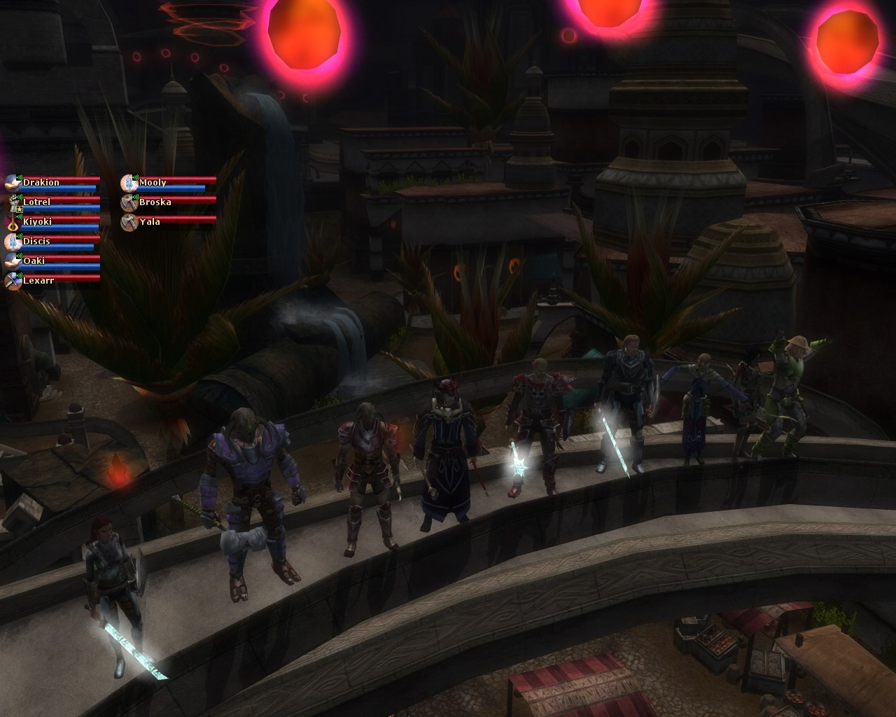 Dungeons & Dragons Online - DDO - Lightbringers prepare for the Marketplace Invasion