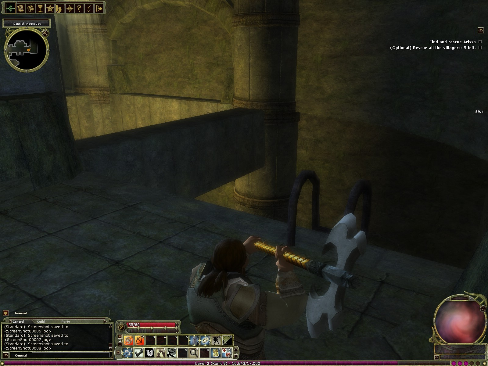 Dungeons & Dragons Online - DDO: The effect of Axe ; )