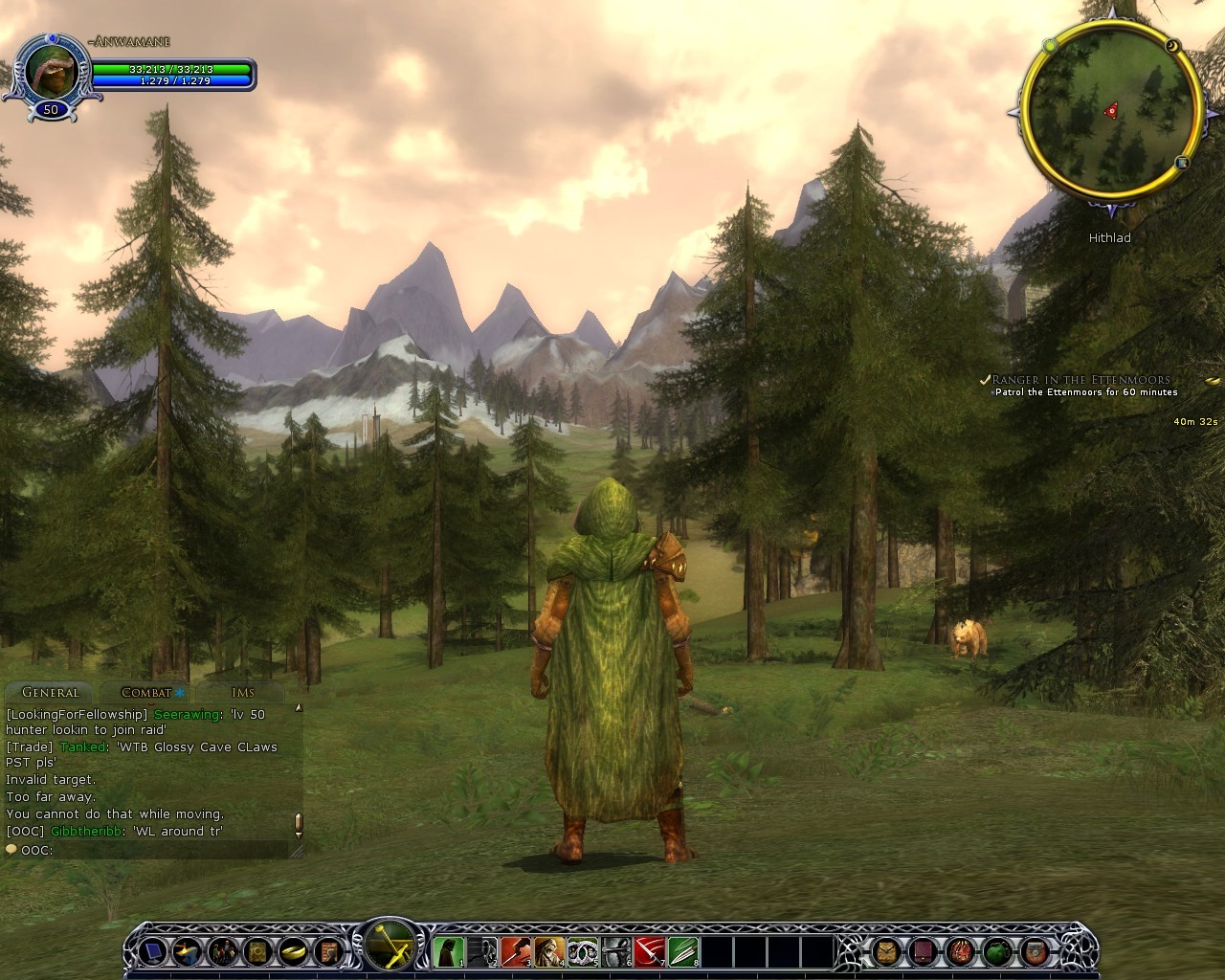 Lord of the Rings Online - As a Ranger