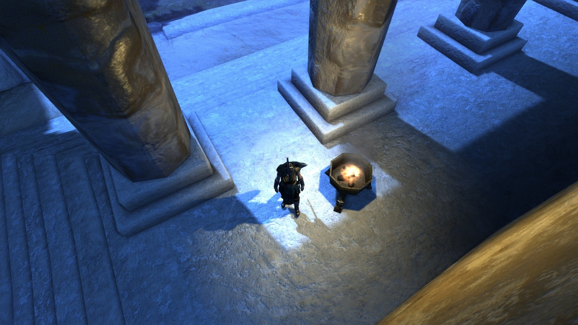 Age of Conan: Unchained - Showing off new dynamic lighting and shadow