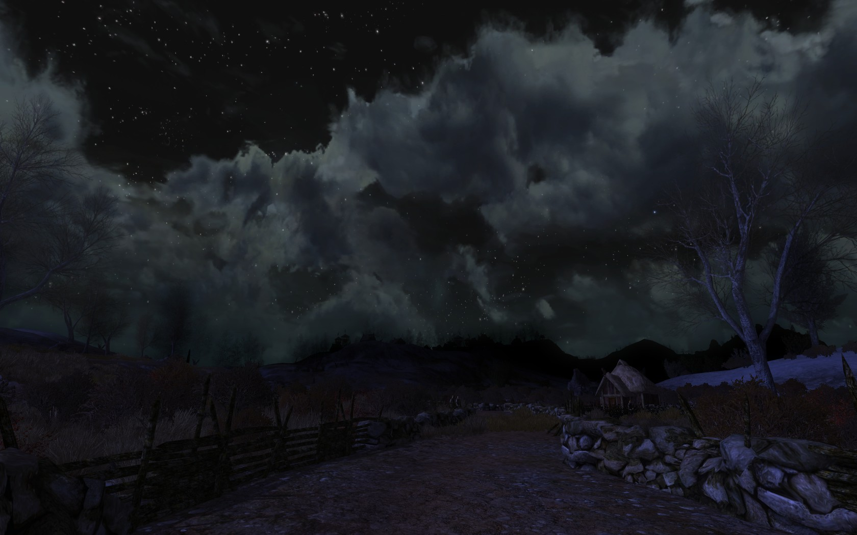 Lord of the Rings Online - Night in Rohan