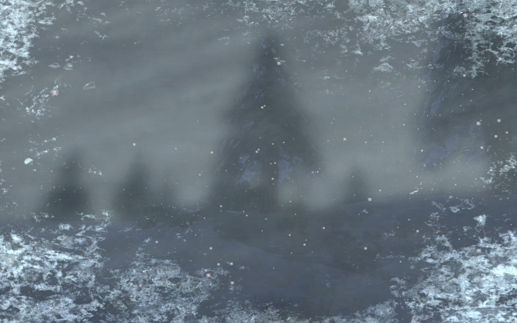 "Lord of the Rings Online - Stuck in an ""unnatural"" blizzard in Rohan"