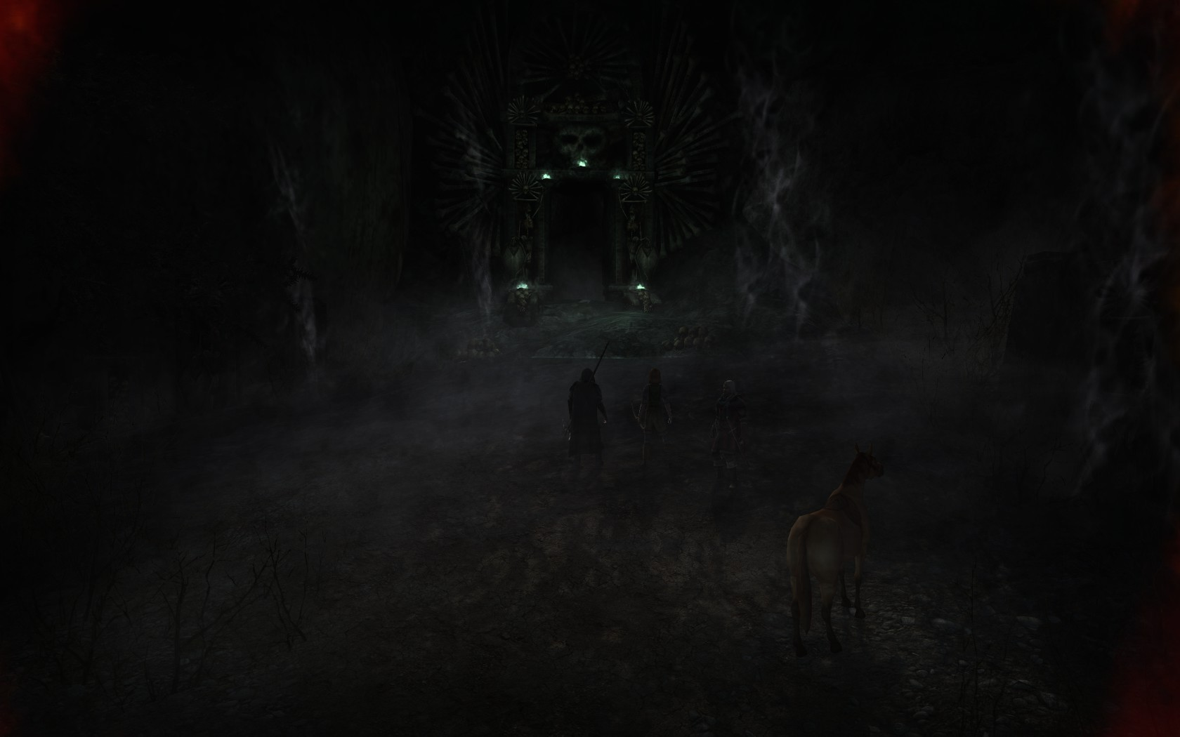 Lord of the Rings Online - The Dark Door of Dimholt where the Dead walks