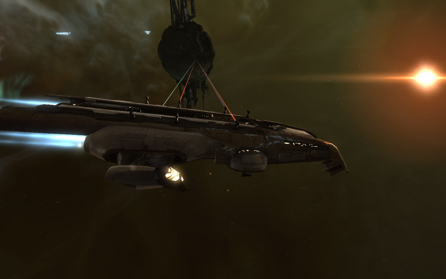EVE Online - Need More GUNS!!!