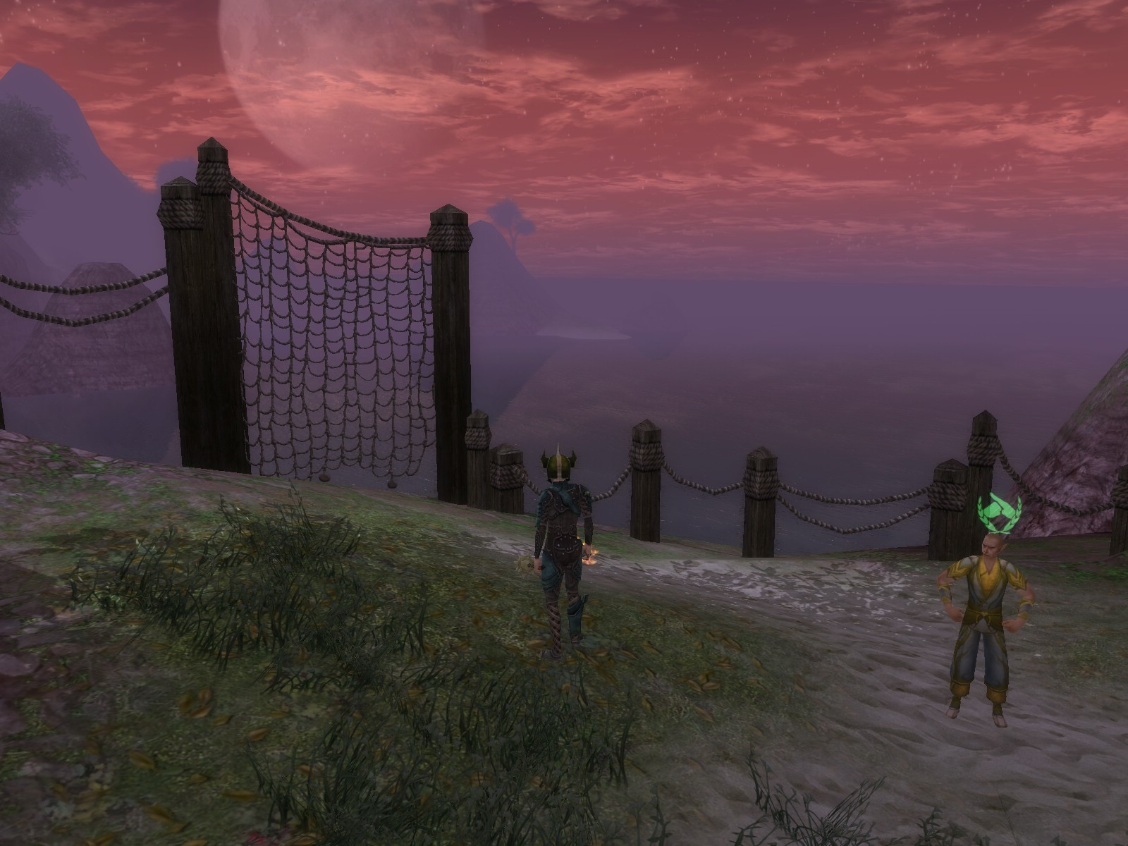 Dungeons & Dragons Online - DDO: Ahh, what a view.