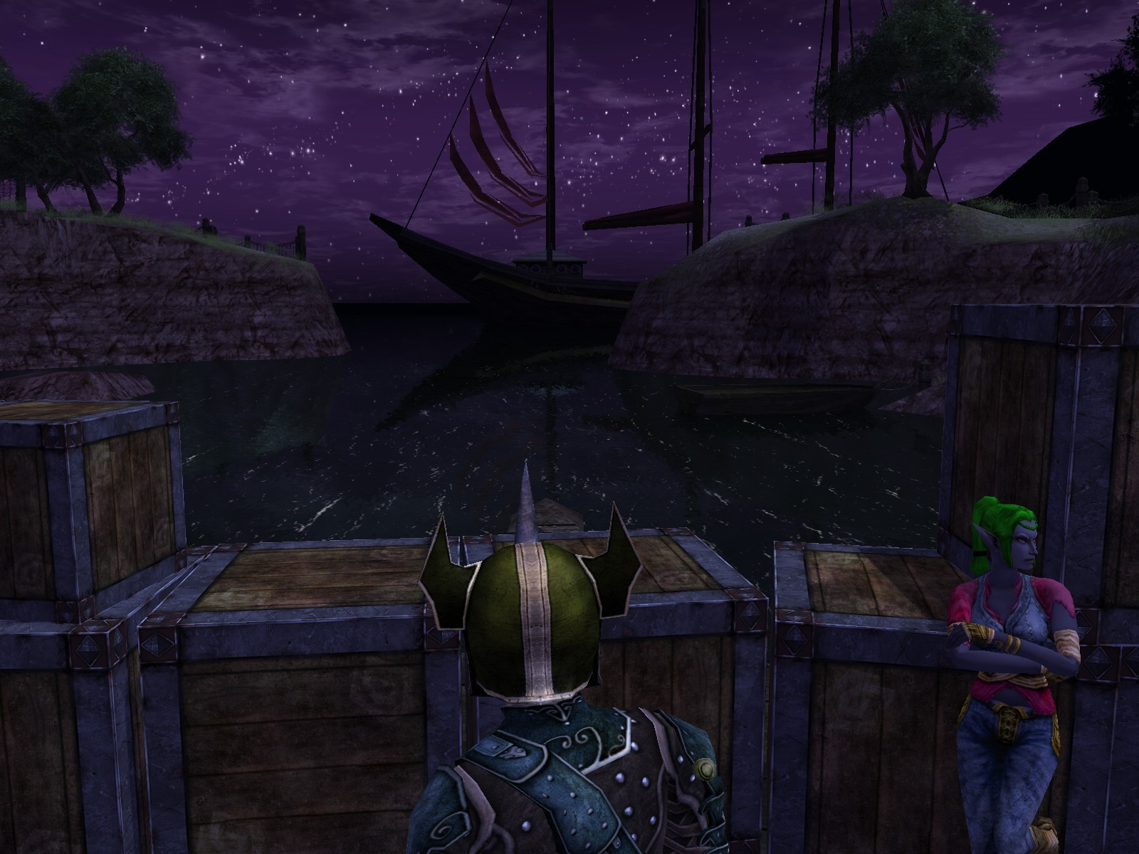 Dungeons & Dragons Online - DDO: ...okay. So maybe let's just watch the ships. What's wrong, my helmet?