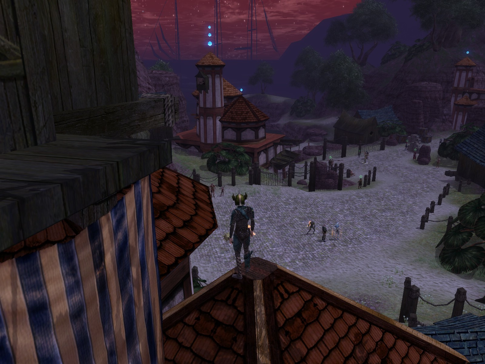 Dungeons & Dragons Online - DDO: King of Khorthos... but you can't see him from there ;D.