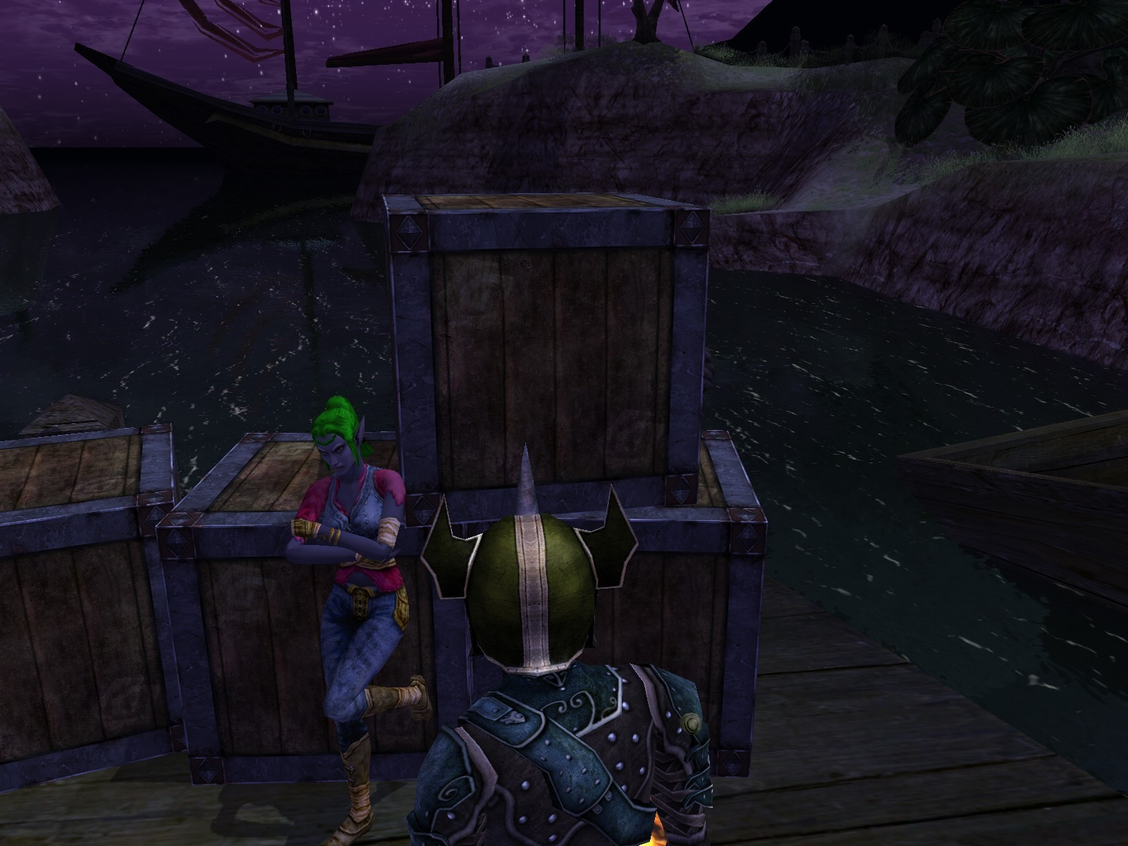Dungeons & Dragons Online - DDO: Let's talk to that cutie... So, you gathered 400 favor and now playing drow, eh? I'd like some favor too, you know...