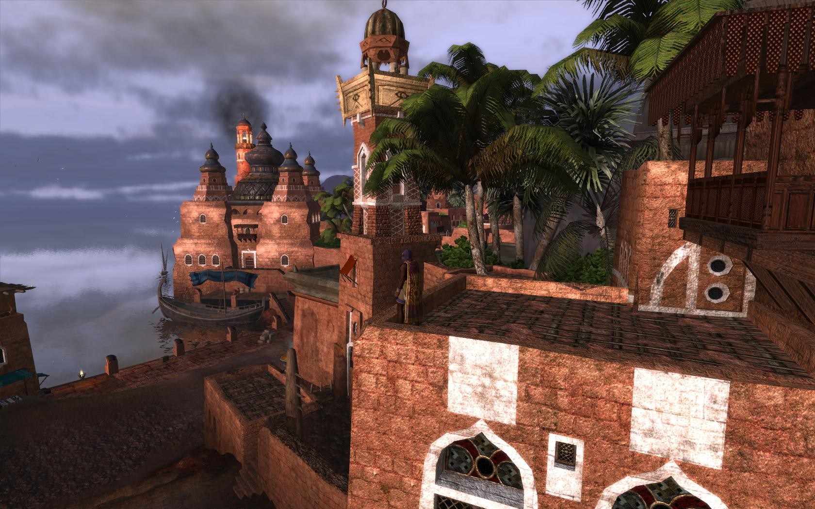 Age of Conan: Unchained - Assassin on another rooftop in Khemi