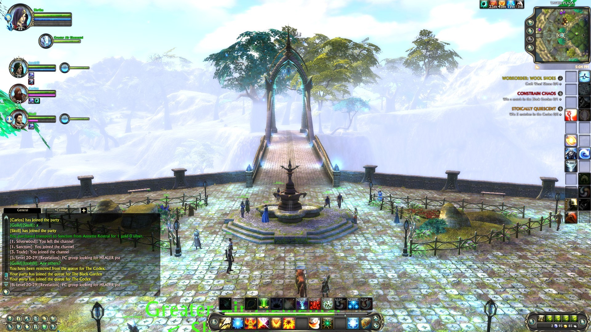 Rift - The misty bridge entrance to Sanctum