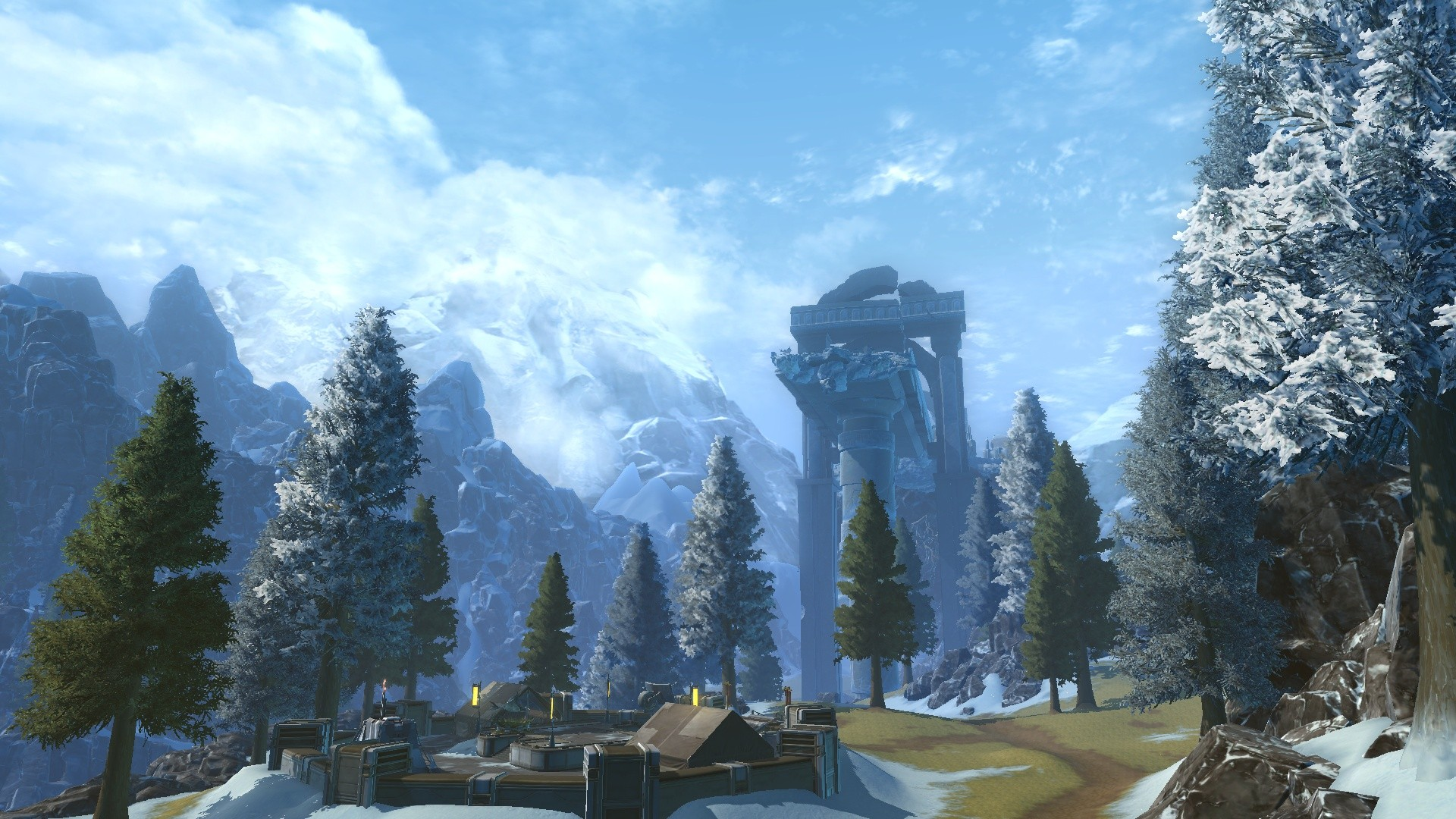 Star Wars: The Old Republic - Alderan is seriously pretty
