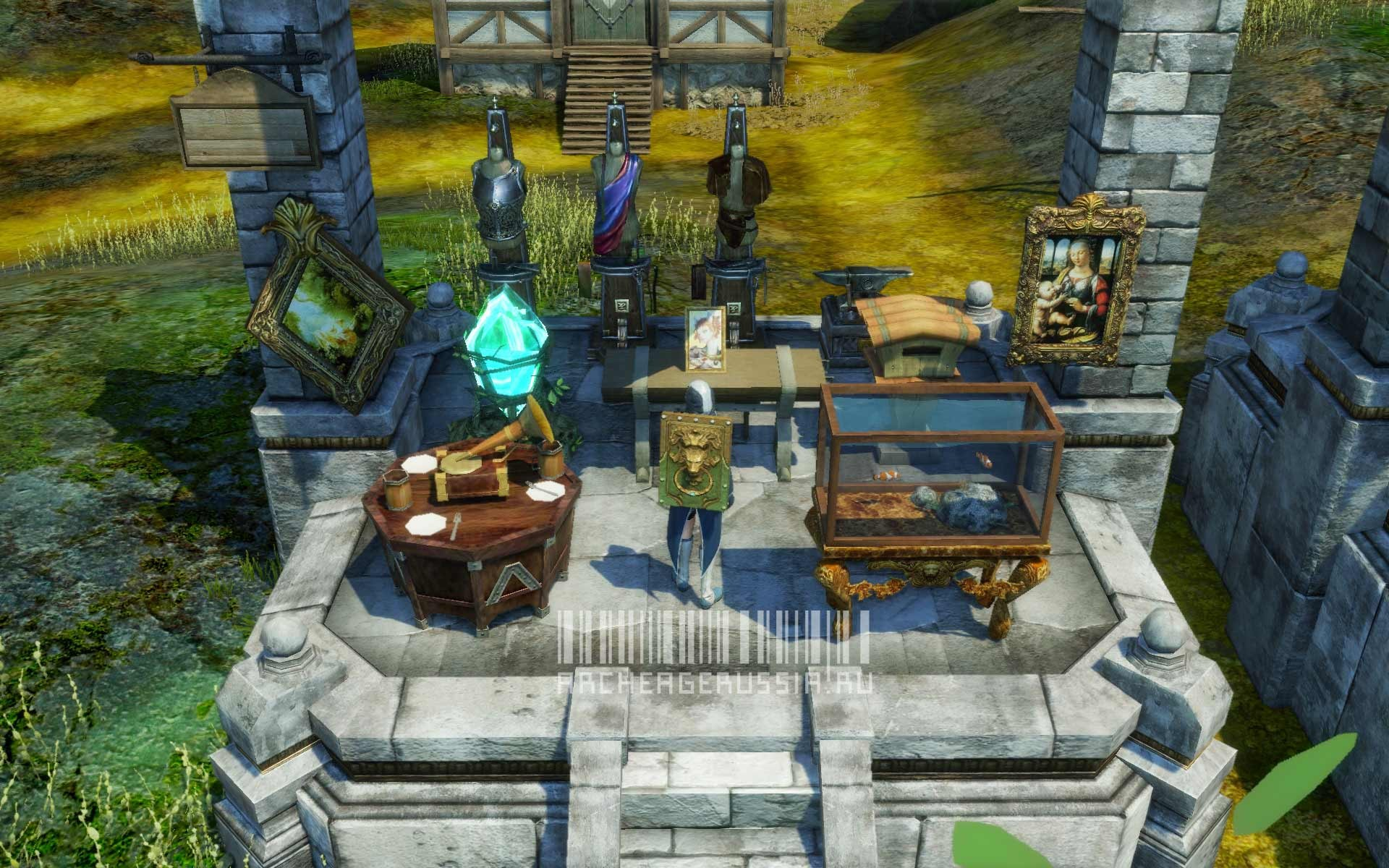 ArcheAge - personal crafting stations and stuff