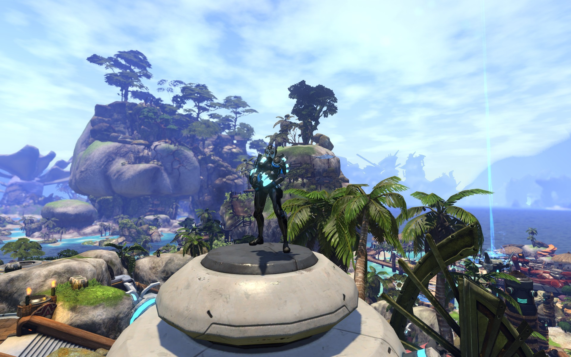 Firefall - Ahhhh morning in New Eden