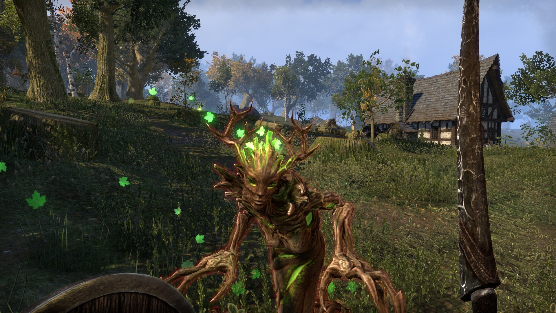 Elder Scrolls Online - Time to get some wood...