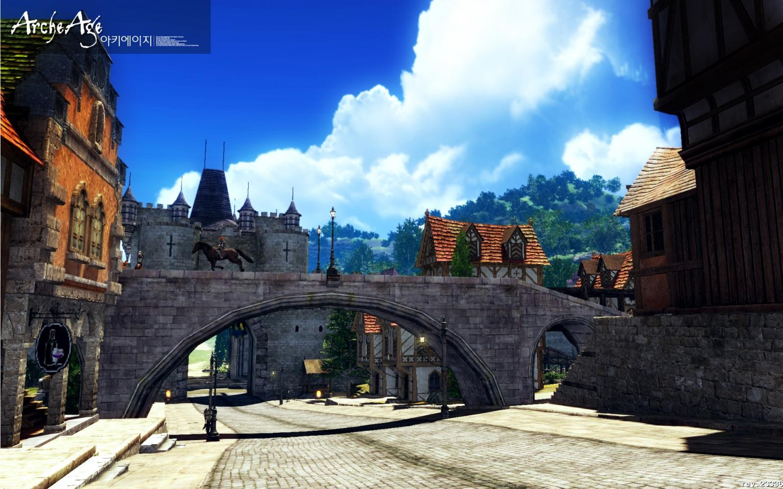 ArcheAge - City view