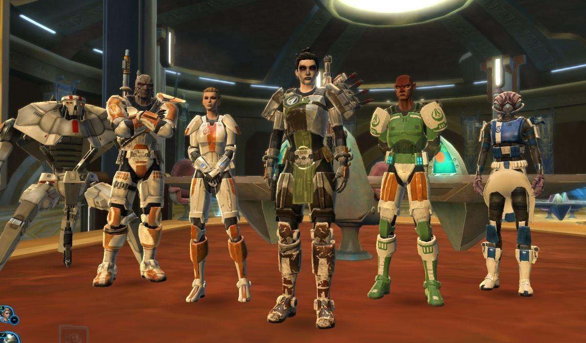 Star Wars: The Old Republic - Team Feia!