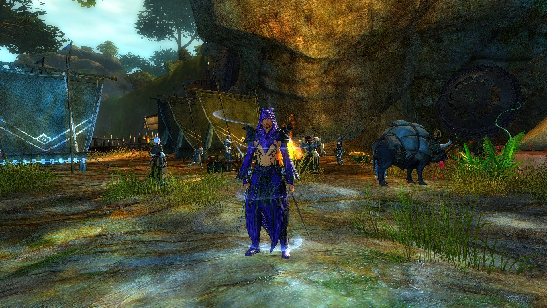 Guild Wars 2 - Looks like somebody stole my boy-band costume idea.