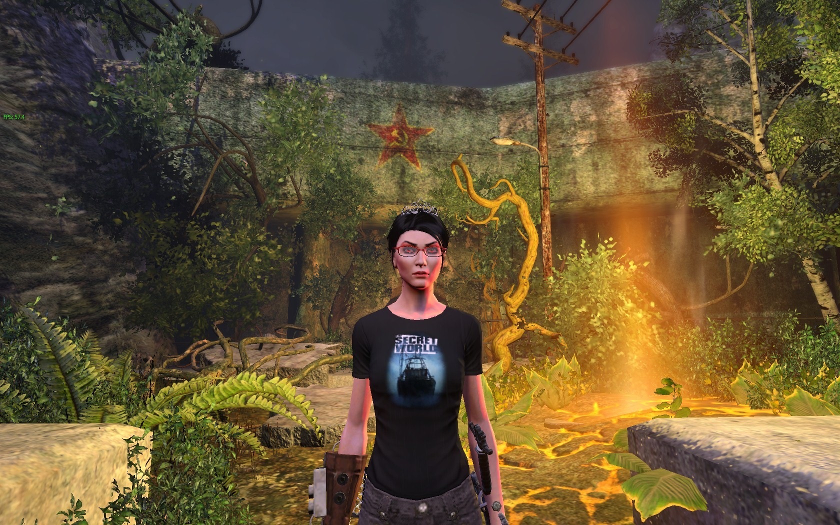 The Secret World - Issue 5 - Tyler Freeborn T-Shirt