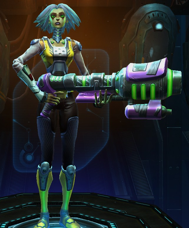 WildStar Character Create Beta