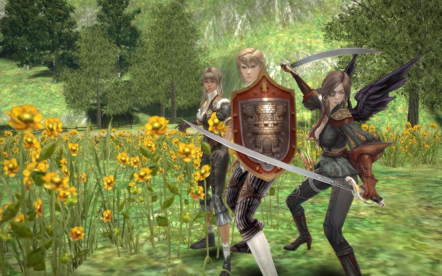 Granado Espada Online - Picking Flowers?