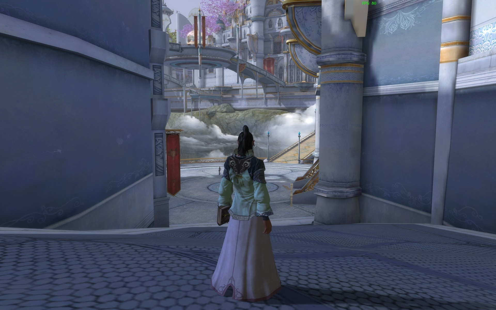 Aion - As I walked into the city, my jaw dropped