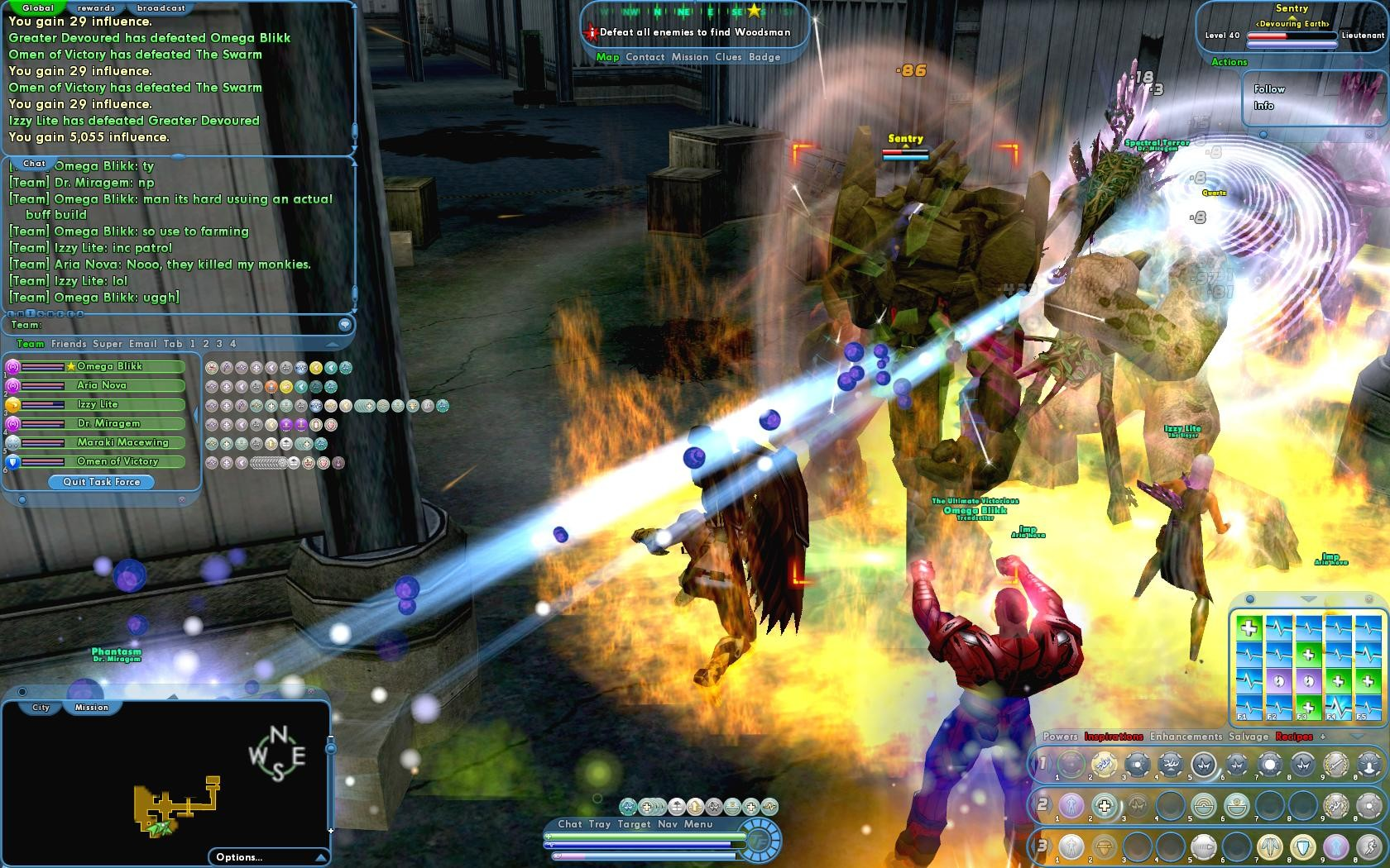 City of Heroes - Defeat All Enemies to Find Woodsman Two